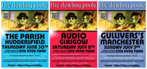 gig posters June July TDP